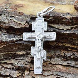 Серебряный крестик Старокиевский размер 30х14 мм вес 1.8 г