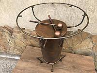 Барабанный стол, гостиная art, стол, барабан конга, дизайнерская мебель ForgedCommodities