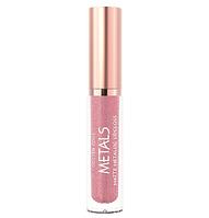 Жидкая матовая помада с металлическим эффектом Golden Rose Metals Matte Metallic Lipgloss № 52