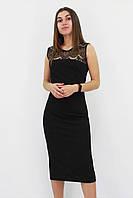 Вечернее платье с кружевом Verona, черный