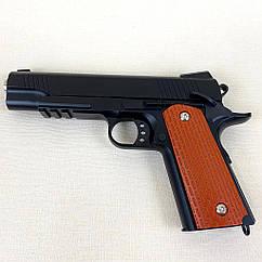 Пистолет металлический Vigor V 13 на пульках
