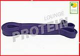 Гумова петля для йоги та фітнесу 5-25 кг бузкова, фото 4