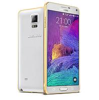 Бампер металлический Cross для Samsung Galaxy Note 4 N910 Gold