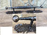 Ручка двери сарая, ручка кованая, ручка двери железная, дверные ручки, фурнитура двери сарая ForgedCommodities