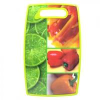 Досточка кухонная разделочная пластик 37*23*1.2см