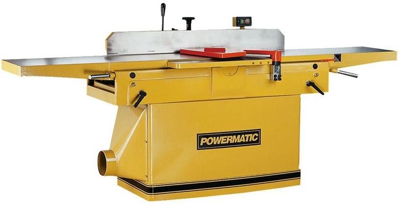 PJ-1285 Фуговальный станок эл./Мер.-400В, 3,5/2,2 кВт JET (Powermatic) струг.вал Ø=96 мм, 3 ножа, фото 2