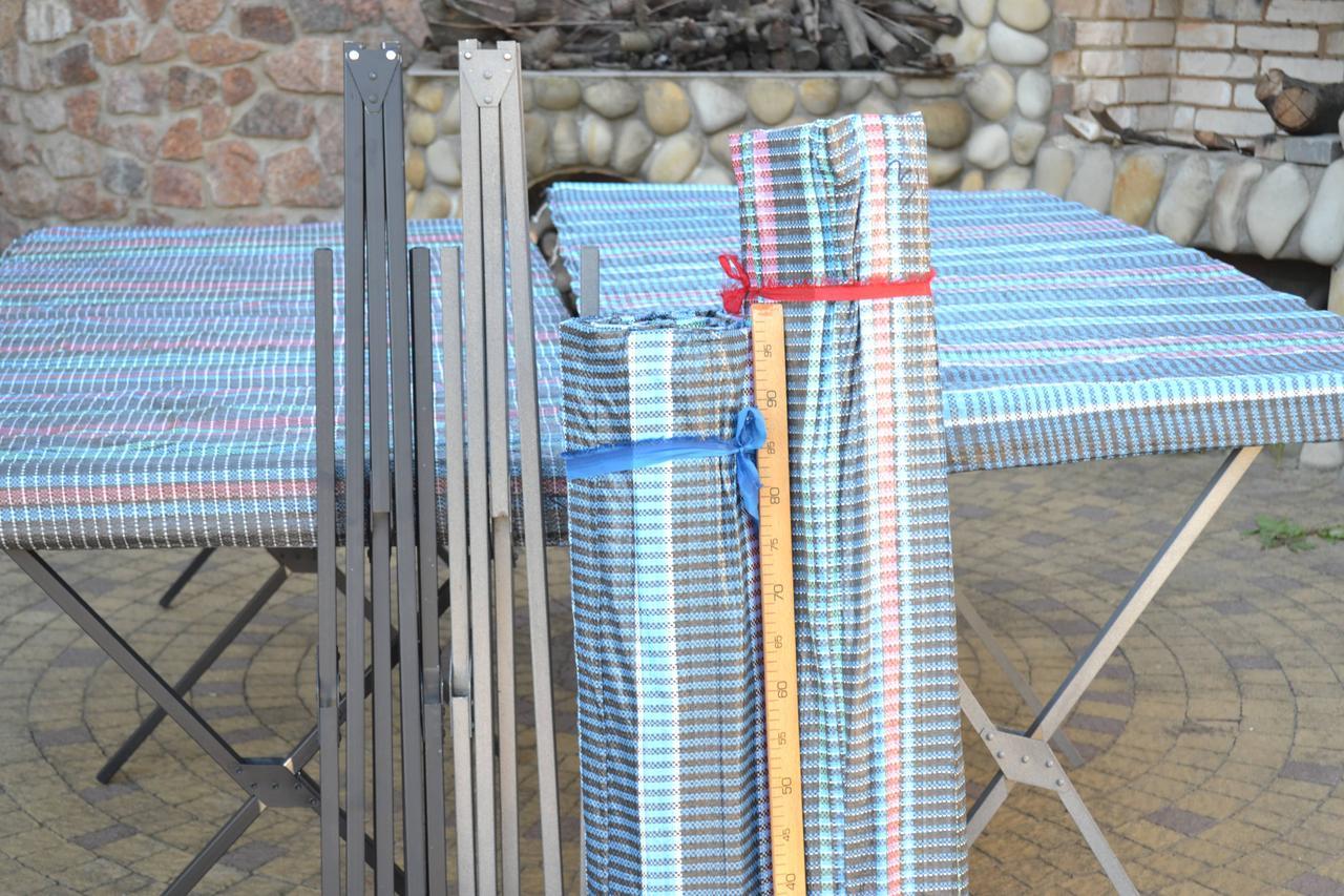 Торговый раскладной стол 1.5 метра