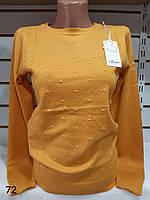 Кофточка однотонна кашемірова жіноча (ПОШТУЧНО) В КОЛЬОРАХ, фото 1