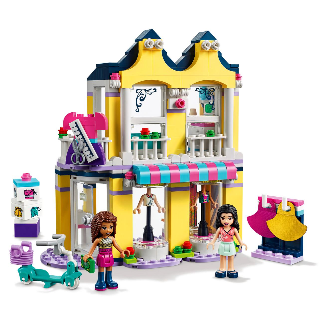 Конструктор LEGO® Friends Модный бутик Эммы, 343 элемента, «LEGO» (41427)