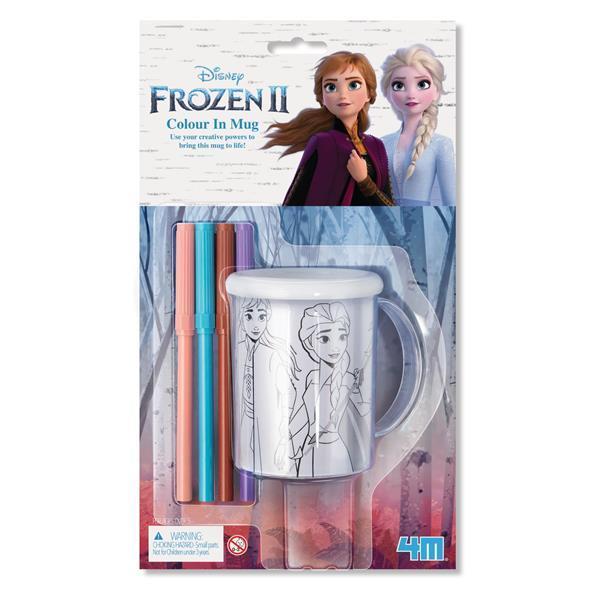 Набор для творчества 4M Frozen 2 Холодное сердце 2 Раскрась чашку (00-06200)