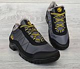 43р Зимові кросівки сірого кольору на шнурівці (КБ-401ч), фото 2