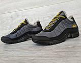 43р Зимові кросівки сірого кольору на шнурівці (КБ-401ч), фото 6
