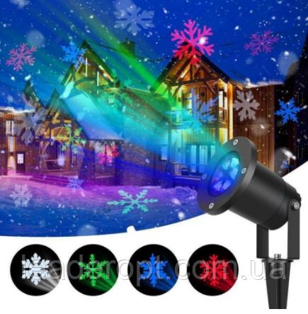 ОПТ Проектор Star Shover COLOR Snowflake № WP2