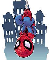 """Картина по номерам """"Человек-паук"""" для детей в коробке, 30*40 см"""