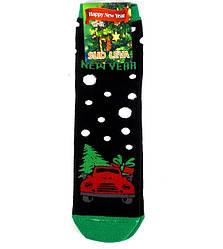 Шкарпетки теплі новорічні Slid Leva розмір 42-43 чорні