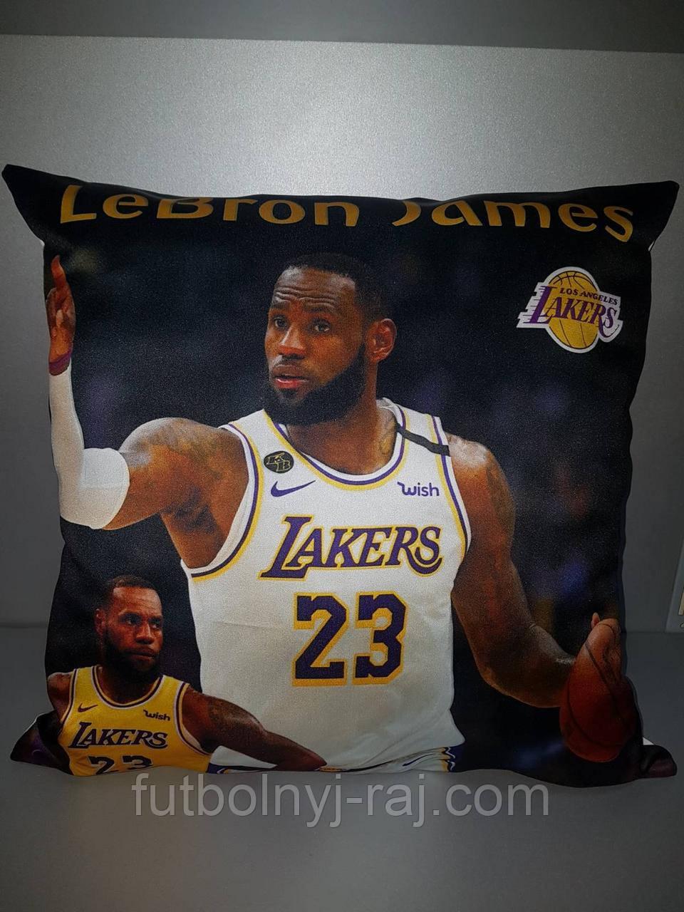Подушка с логотипом NBA LeBron James