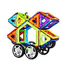 ОПТ ОПТ Магнітний конструктор валізу Магникон на 48-деталей, фото 2