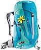 Женский туристический рюкзак DEUTER ACT Trail 22 SL, 3440015 3217 бирюзовый
