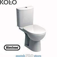 Унитаз-компакт напольный KOLO NOVA PRO безободковый горизонтальный выпуск Soft Closing