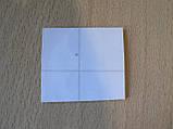 Наклейка s силиконовая Лапа 35х34х1.0мм серая серебристая №1 на авто автомобильная, фото 2