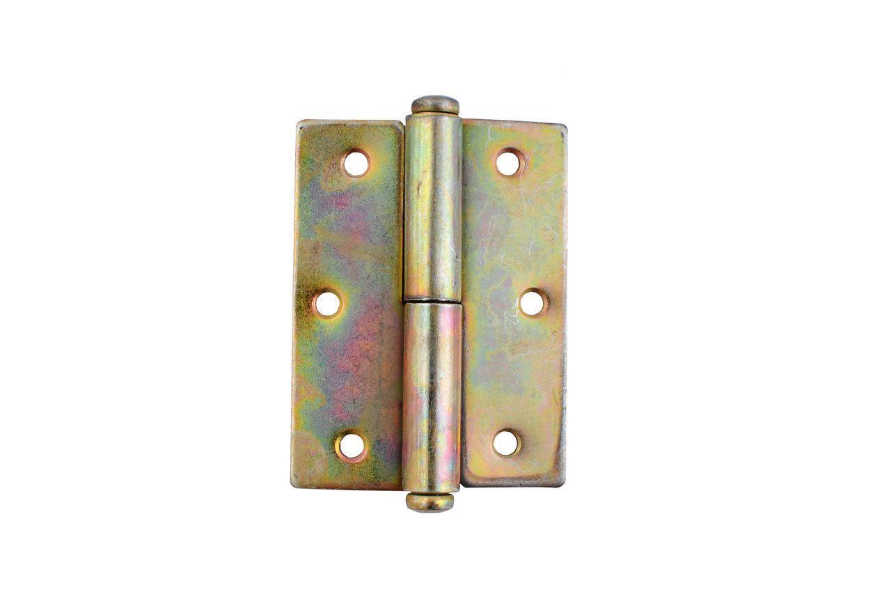 Петля Никифоров - 70 мм, квадратная правая оцинкованная 2 шт.