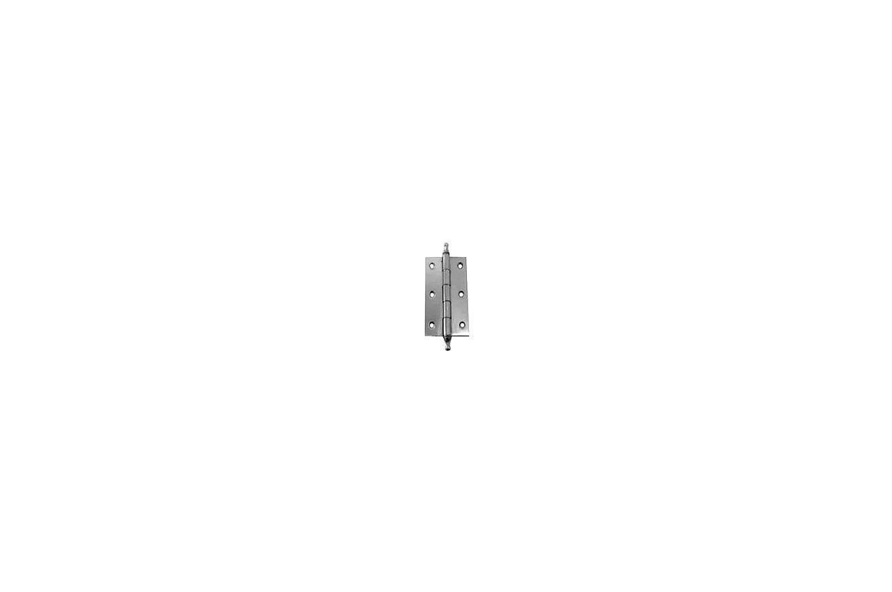 Петля дверная FZB - 50 мм AL CP (2 шт.)