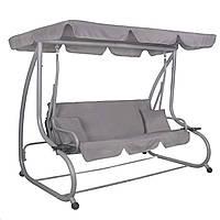 Качели-диван садовые с навесом для отдыха Springos Venezia SKL41-277717