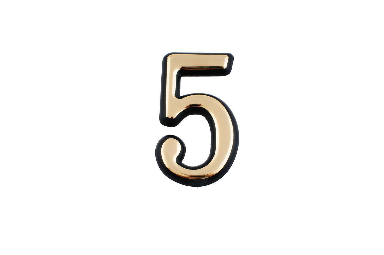 Номер дверной FZB - № 1 (большой) 5 шт.