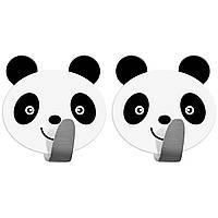 Крючки для полотенец Tatkraft Panda самоклеющиеся из нержавеющей стали 20078