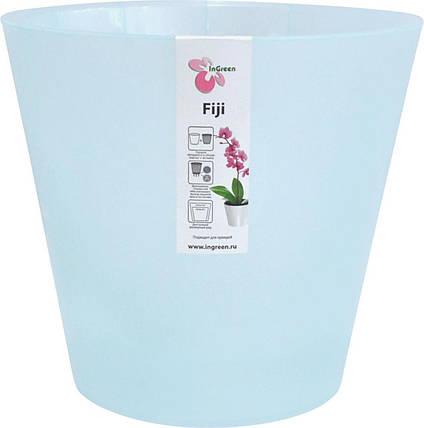 Горшок для цветов Фиджи Орхид D 230 мм/5 л голубой перламутровый, фото 2