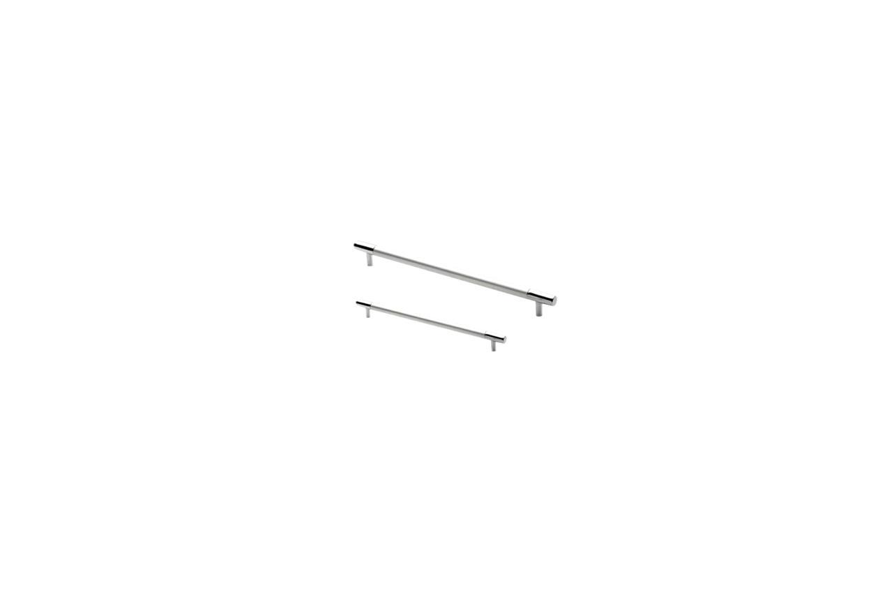 Ручка мебельная FZB - 224 мм 1026 AL/CP