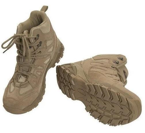 Ботинки тактические демисезонные Mil-Tec Squad Boots 5 Inch coyote