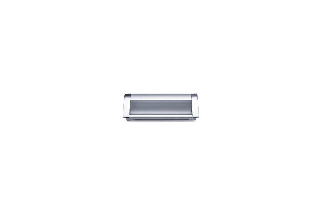 Ручка мебельная FZB - 160 мм 906 AL/CP