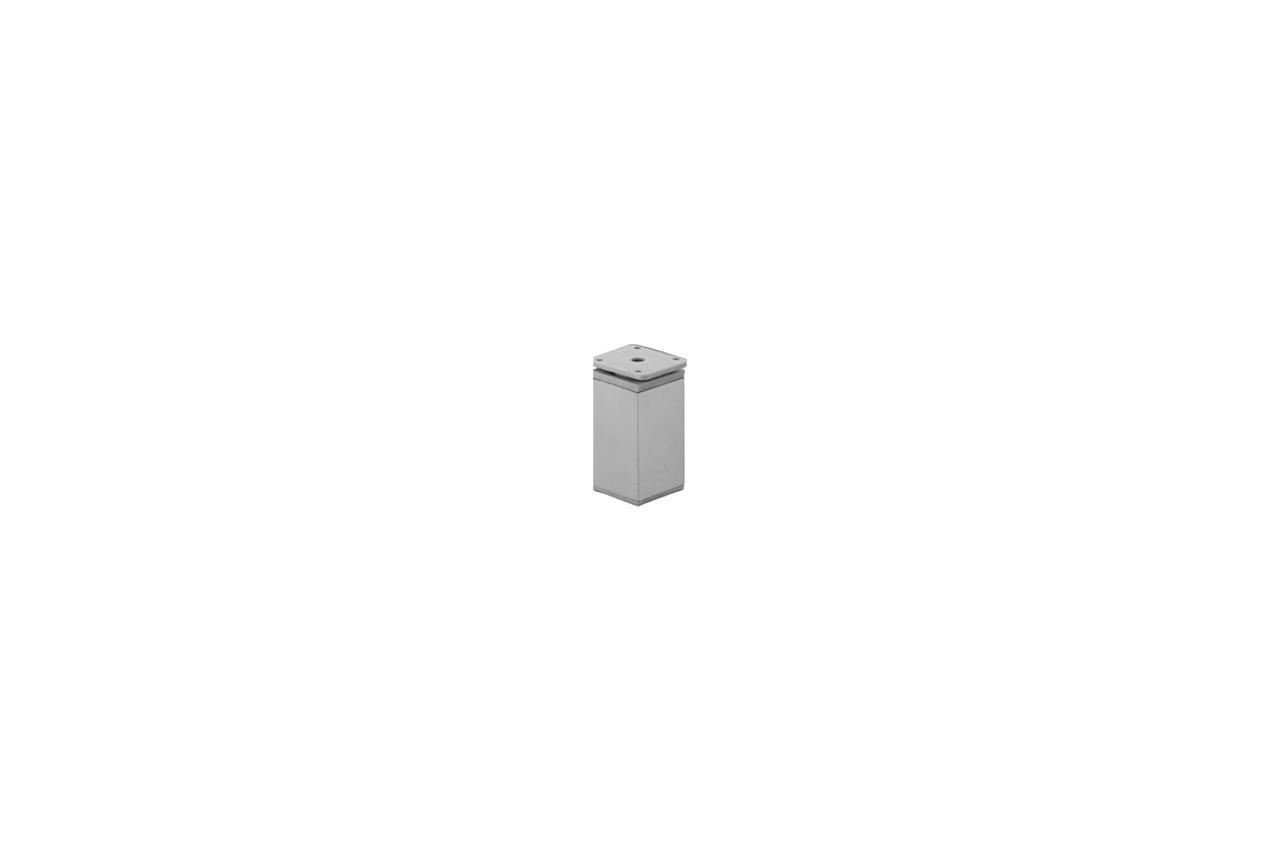 Ножка мебельная FZB - 100 мм 04C AL