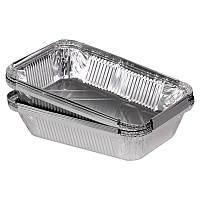 Алюминиевый контейнер для еды SP64L, эко посуда, 218*155*39,5 мм, объем 960 мл, 100 шт./уп.