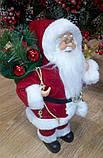 Дед Мороз красный 30 см, фото 5