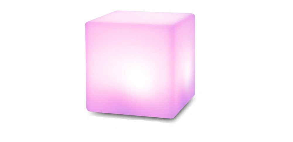 Креативный квадратный светодиодный ночник с дистанционным управлением