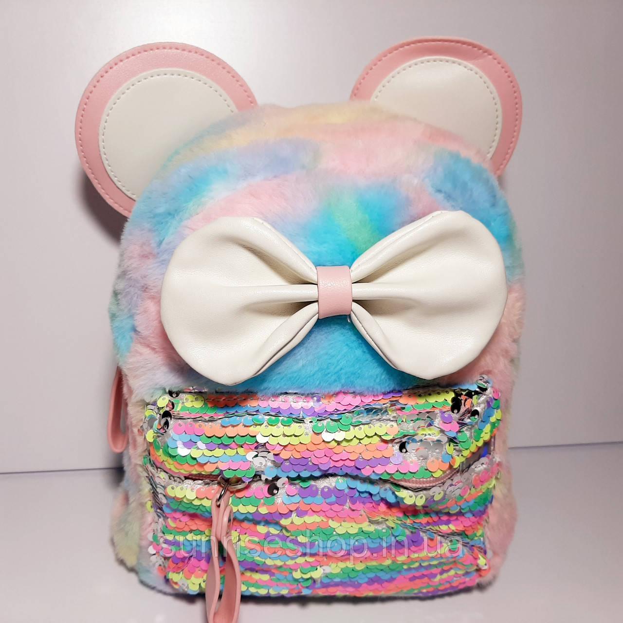 Рюкзак для девочки Микки