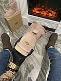 Женские зимние сапоги Ugg Classic Mini Suede Pink., фото 3
