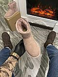 Женские зимние сапоги Ugg Classic Mini Suede Pink., фото 6