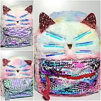 Рюкзак для дівчинки Кішка, фото 2