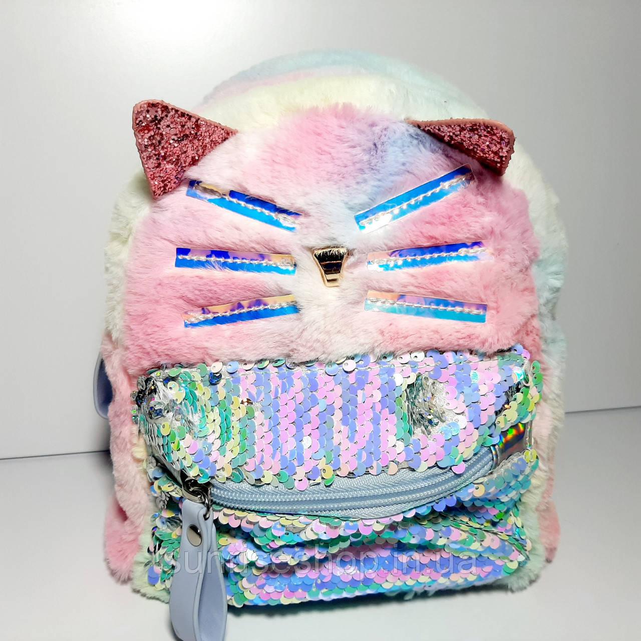 Рюкзак для дівчинки Кішка