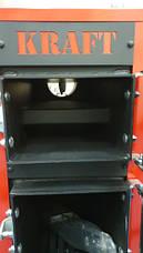 Твердотопливный котел Крафт 16 кВт серия Е new с автоматикой (водяной колосник), фото 3