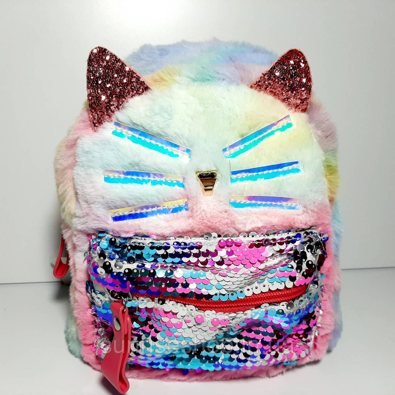 Рюкзак для девочки Кошка
