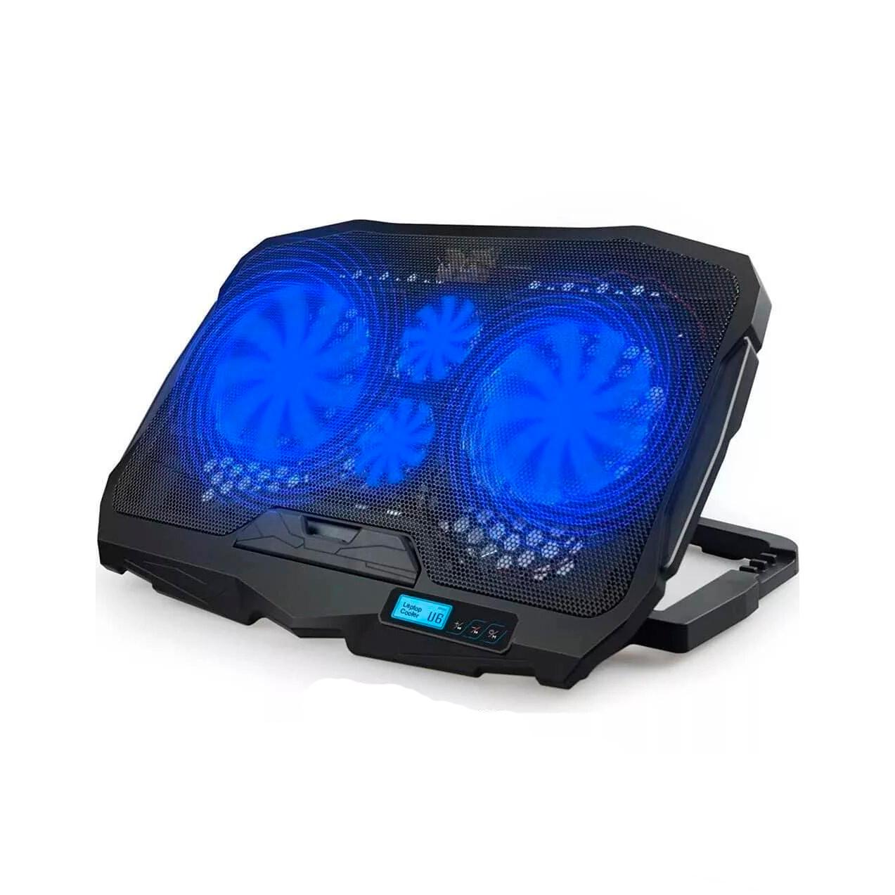 """Охолоджуюча підставка для ноутбука S18 c підсвічуванням, 9-17"""""""