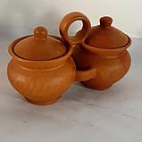 Двійнята авторські керамічні ручної роботи +-250мл, фото 2