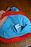 Шапка Adidas Originals W44119 на флісі,Розмір M, фото 2