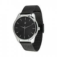 Годинник ZIZ Білим по чорному + додатковий ремінець Чорні КОД: 5016489