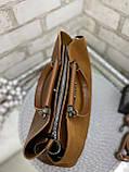 Сумочка комбінована нат.замша/кожзам якість люкс арт.0237-1, фото 3