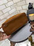 Сумочка комбінована нат.замша/кожзам якість люкс арт.0237-1, фото 7